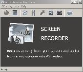 Free AHD Screen Recorder Screenshot