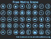 Screenshot of Free Metro Icons