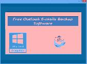 Screenshot of Free Outlook E-mails Backup Software