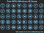 Free WP8 Icons Screenshot