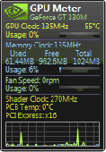 GPU Meter Screenshot
