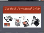 Screenshot of Get Back Formatted Drive