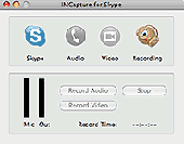 Screenshot of IMCapture for Skype