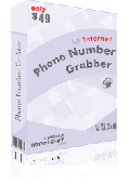 Screenshot of Internet Phone Number Grabber