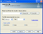 Jar2Exe Screenshot