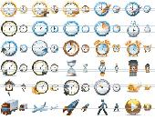 Large Time Icons Screenshot
