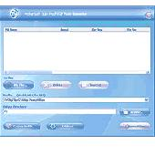 Screenshot of McFunSoft iPod/PSP/3GP Video Converter