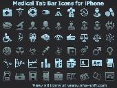 Medical Tab Bar Icons for iPhone Screenshot