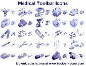 Medical Toolbar Icons Screenshot