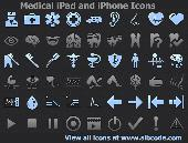 Screenshot of Medical iPad and iPhone Icons
