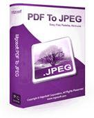 Screenshot of Mgosoft PDF To JPEG Pro