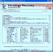 Microsoft Exchange Recovery Tool Screenshot