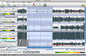 MixPad Mac Multitrack Audio Recorder and Mixer Screenshot