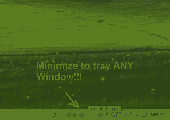 Screenshot of Move to Tray Any Window Software