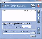 Multipage TIFF to PDF Converter Screenshot