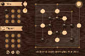 Screenshot of Multiplayer Nine Men's Morris
