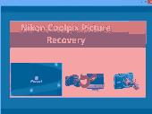Nikon Coolpix Picture Recovery Screenshot