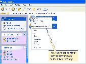 One click OGG MP3 Converter Screenshot