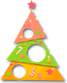 Paper Christmas Tree Screenshot