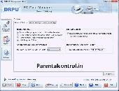 Screenshot of Parental Control