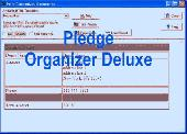 Pledge Organizer Deluxe Screenshot