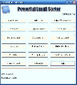 Powerful Email Sorter Screenshot