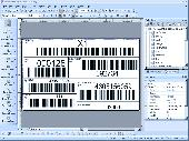 PrintShop Variable Barcode Label Printing Software Screenshot