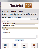 Protect PDF Copying Screenshot