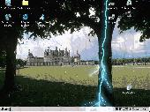 Screenshot of Rainy Screen Saver