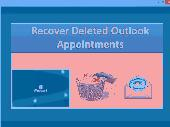 Recover Deleted Outlook Appointments Screenshot
