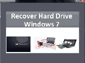 Recover Hard Drive Windows 7 Screenshot