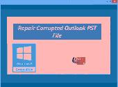 Repair Corrupted Outlook PST File Screenshot