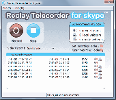 Screenshot of Replay Telecorder