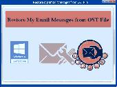 Restore My Email Messages from OST File Screenshot