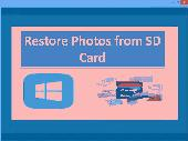 Restore Photos from SD Card Screenshot
