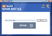 SFWare Repair RAR File Screenshot