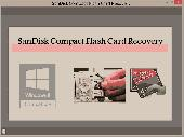 SanDisk Compact Flash Card Recovery Screenshot