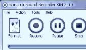 Screenshot of Sonarca Sound Recorder XiFi