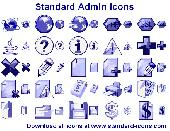 Standard Admin Icons Screenshot