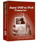 Screenshot of Super DVD to iPod Converter