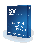 Sv Automatic Website Builder Screenshot