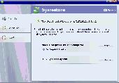 Sysrestore Screenshot