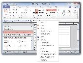 Screenshot of Tabs for Visio