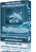 TinyMiner EVE Online Mining Bot Screenshot