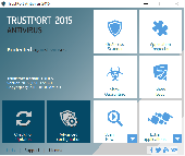 TrustPort Antivirus Screenshot