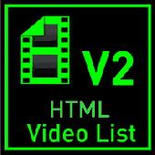 Screenshot of Video List AS 2.0 v2