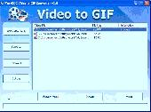 Screenshot of Video to GIF Animation Converter