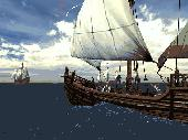 Voyage of Columbus 3D Screensaver Screenshot