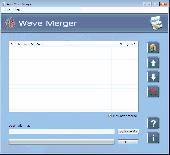 Screenshot of Wave File Combiner Software