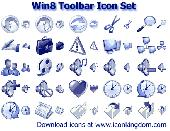 Win8 Toolbar Icon Set Screenshot